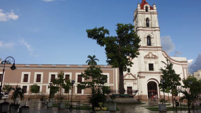 Die Iglesia Nuestra Señora de la Merced am Plaza de los Trabajadores