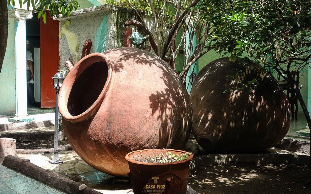 Tinajones sind das Markenzeichen von Camagüey
