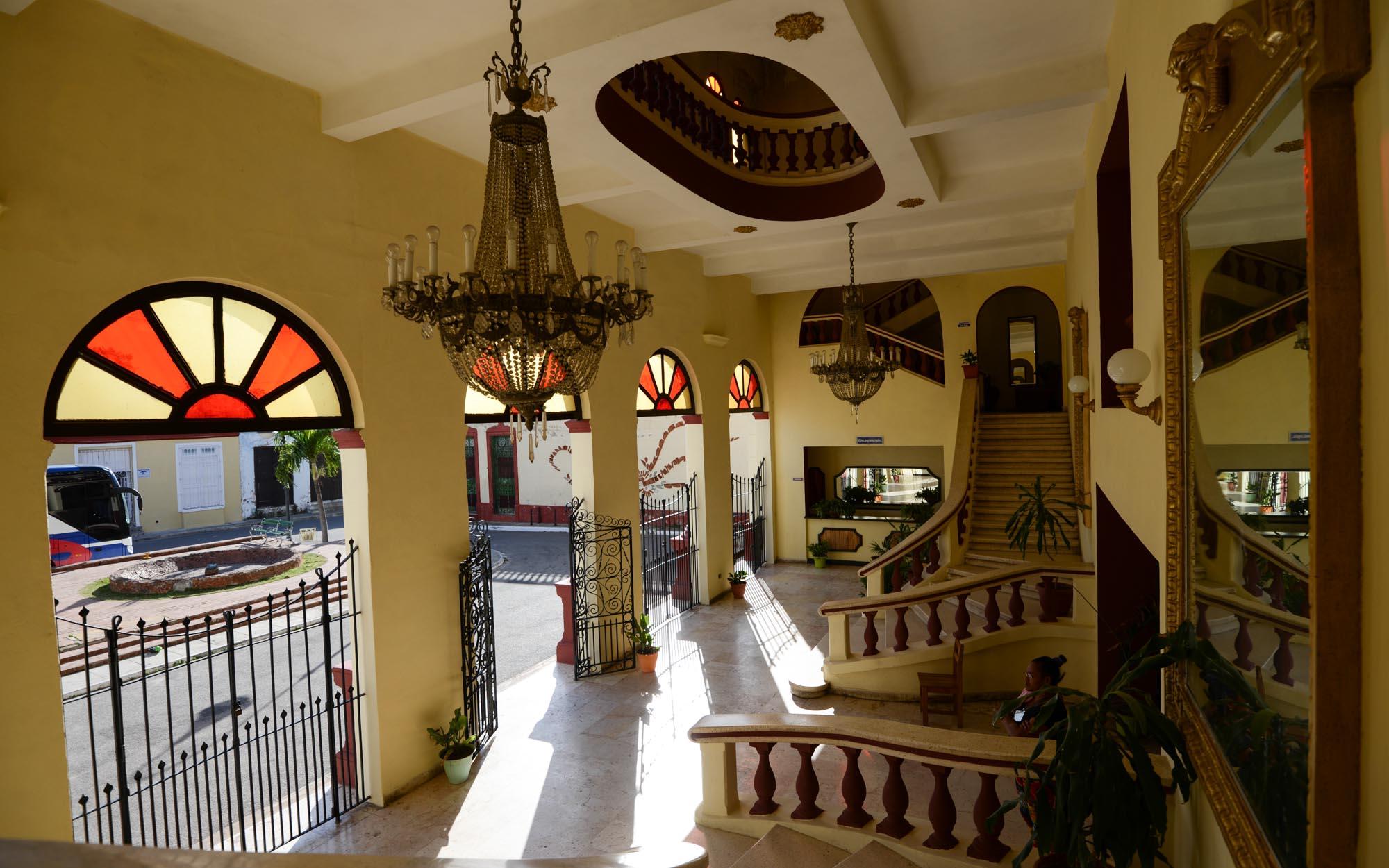 Das Foyer im Teatro Principal in Camagüey