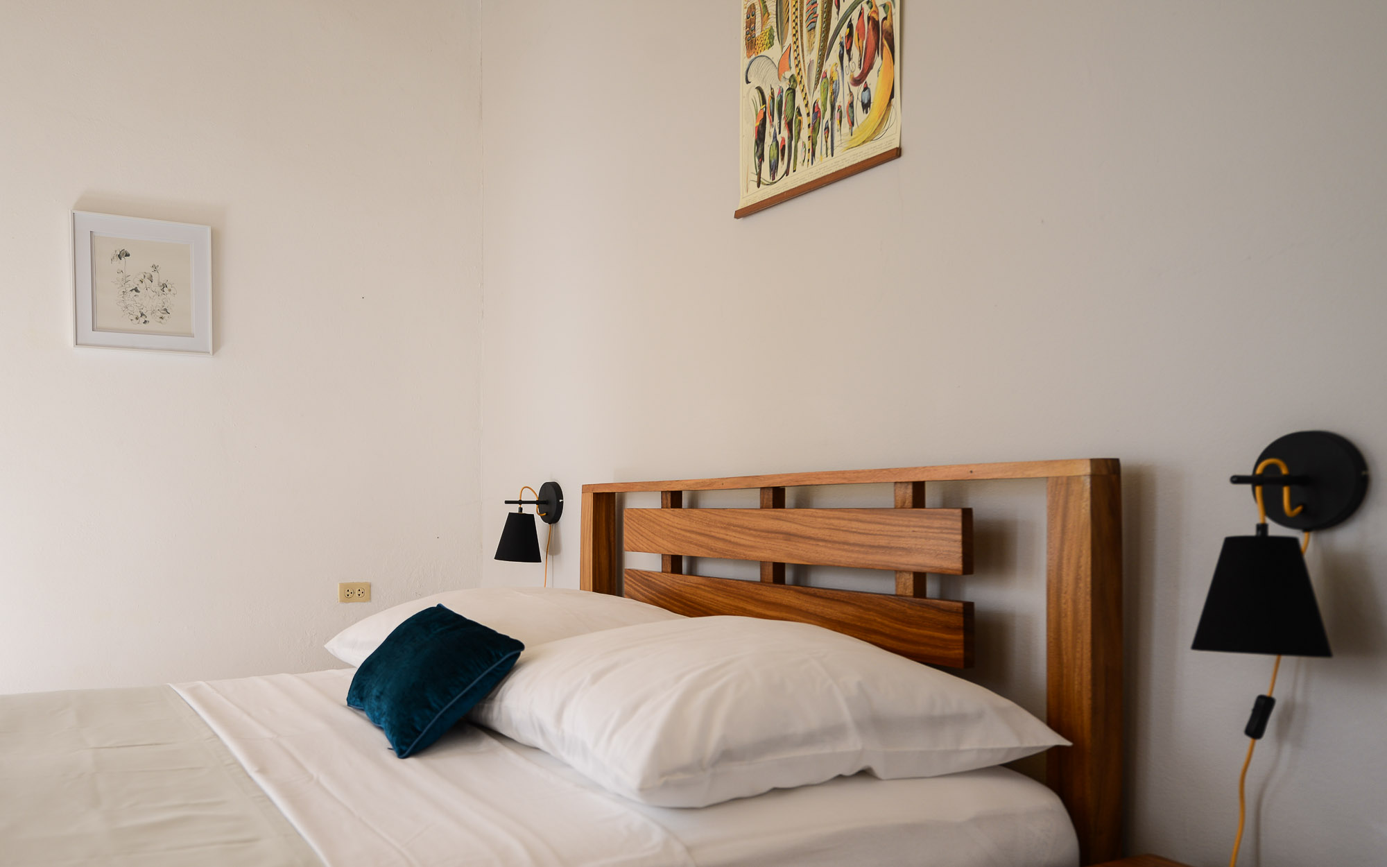 Die Zimmer in unserem Casa Particular halten wir schlicht
