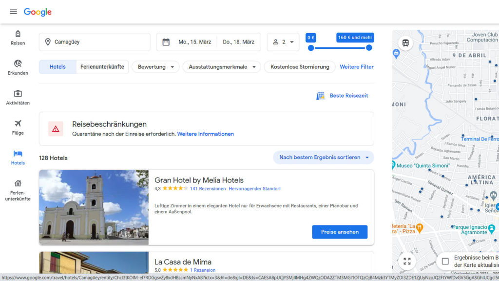 Google-typisch ist alles selbsterklärend aufgebaut