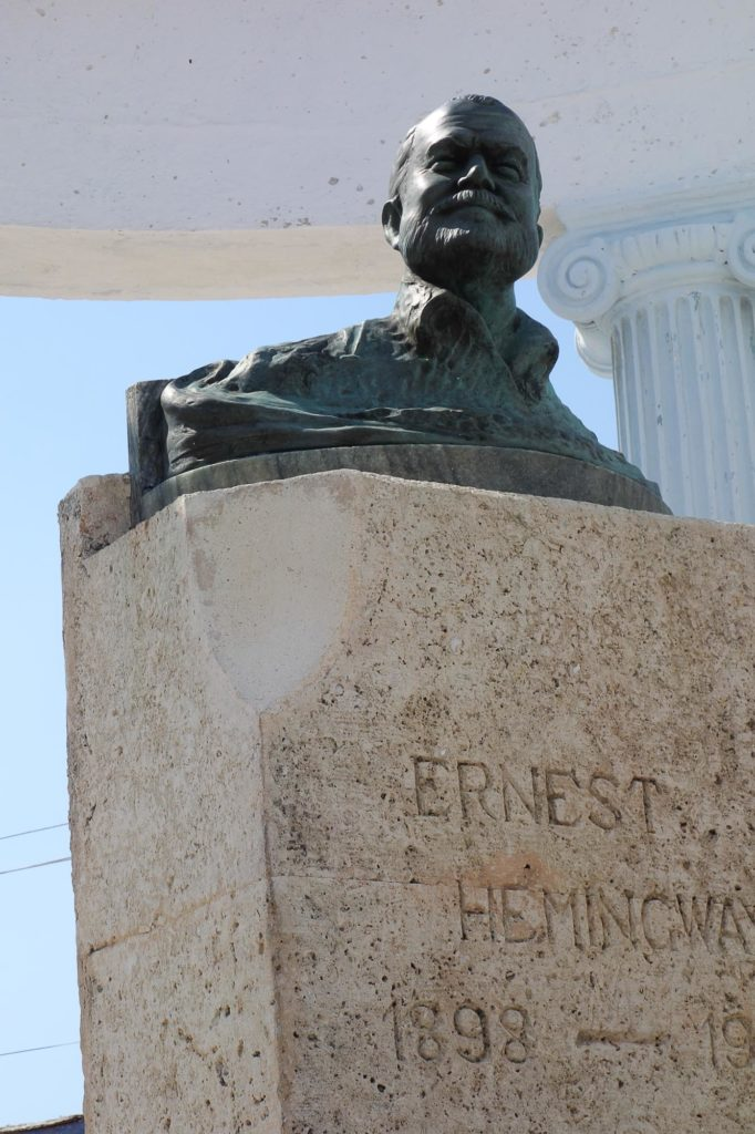 Hemingway Denkmal in Cojímar