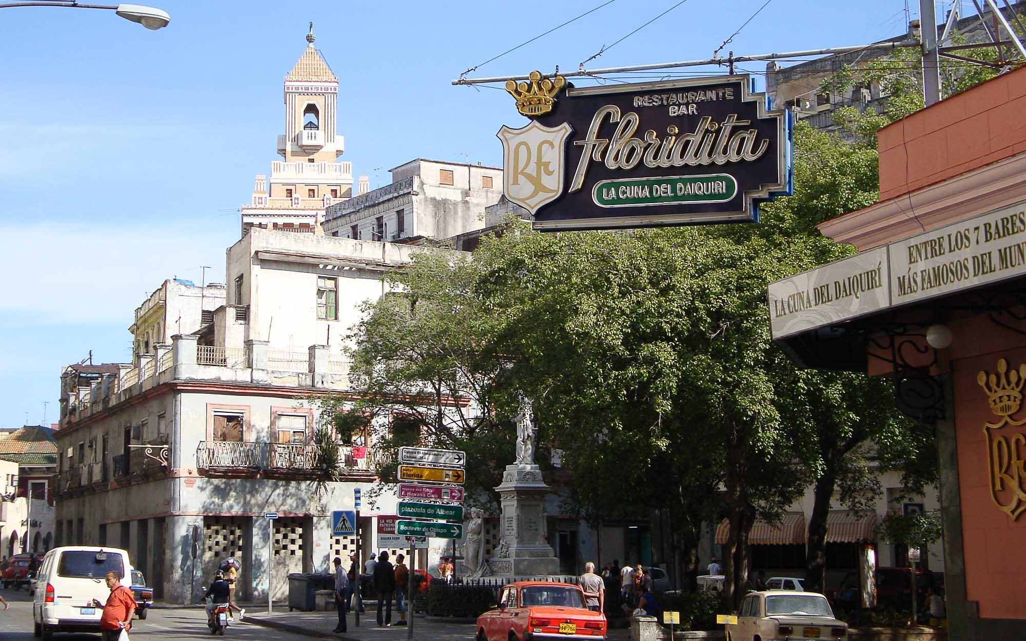 Das El Floridita in Havanna lebt den Ernest Hemingway Kult