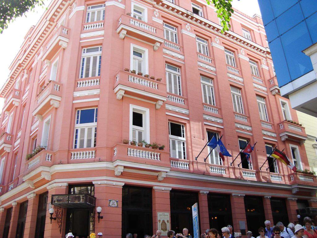 Im Hotel Ambos Mundos lebte Hemingway von 1930 bis 1939