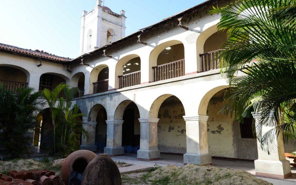 Das ehemalige Hospital San Juan de Dios wird zum Hotel umgebaut